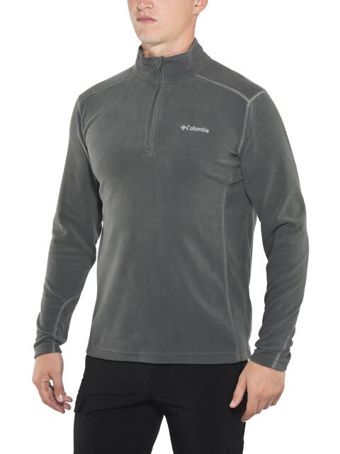 Columbia M's Klamath Range II Half Zip Fleece Jacket Charcoal
